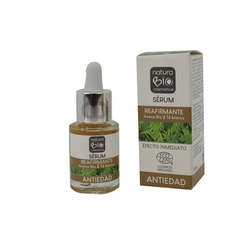 Sérum reafirmante Avena y té blanco bio - 15ml