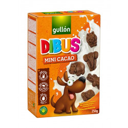 Galletas dibus mini sin huevo ni frutos secos - 250 gr