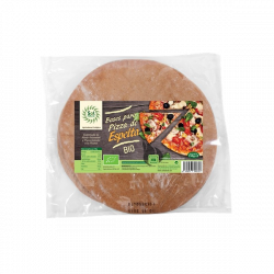 Base de pizza de espelta bio  - 300 gr