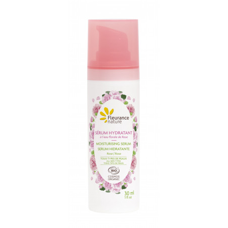 Serum Hidratante Rosa de Damasco Ecológico - 30ml