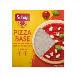 Base de pizza sin gluten x 2uds - 300g