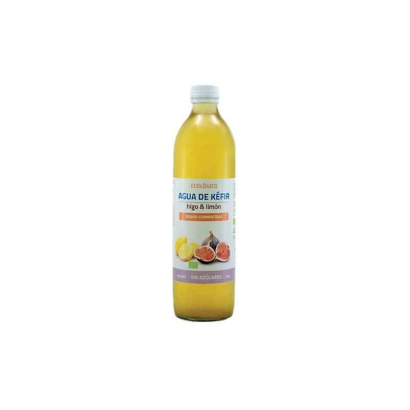 Agua de kefir higo y limon eco  - 500 ml