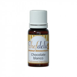 Aroma chocolate blanco concentrado sin gluten - 10ml