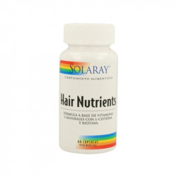 Hair nutrients - 60 cápsulas
