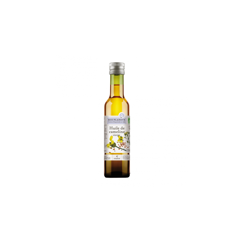 Huile de lin viergo bio d'origine france - 250 ml