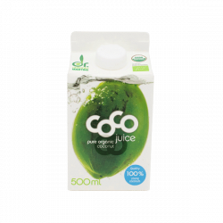 Agua de coco natural orgánica - 500 ml