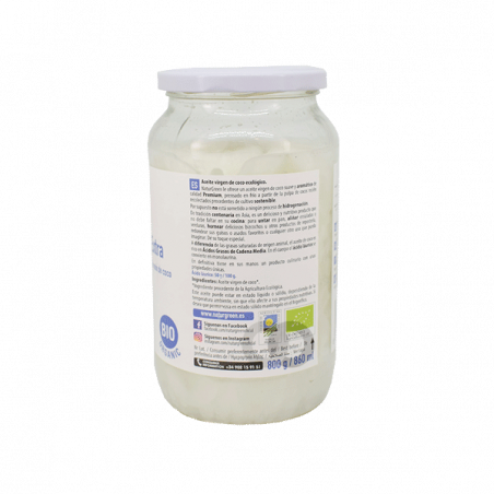 Aceite coco virgen bio - 860 ml