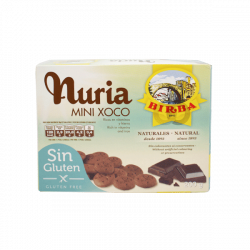 Galletas nuria mini choco sin gluten - 200 gr