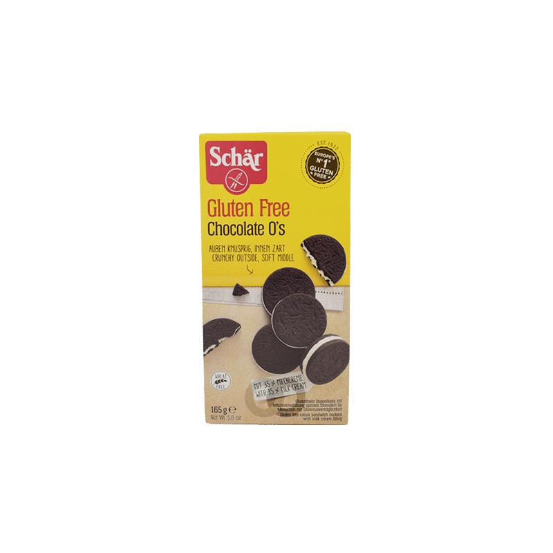 Galletas chocolate sin gluten - 150 gr