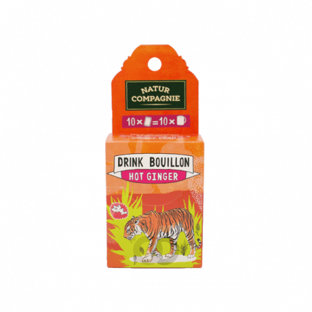 Caldo hot ginger bio - 50 gr