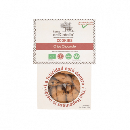 Cookies con chips de Chocolate Sin Gluten - 135 gr