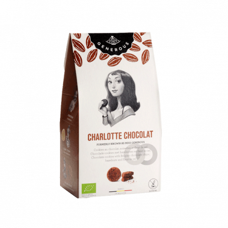 Galletas charlotte chocolate ecológicas y sin gluten - 120 gr