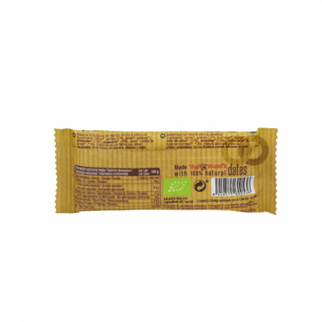 Barrita de frutos secos y semillas - 30 gr