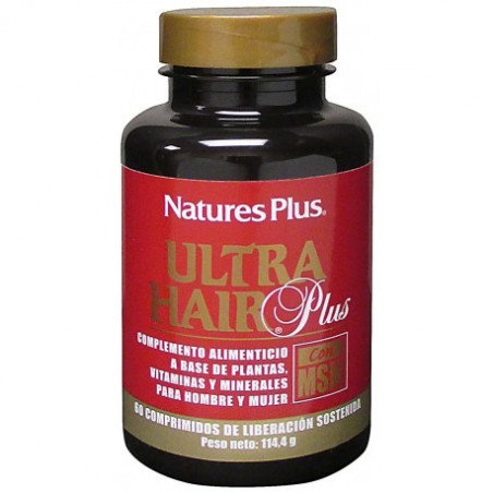 Ultra Hair Plus con MSM 60 comprimidos