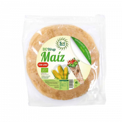 Tortillas wrap de maíz Ecológicas - 160g