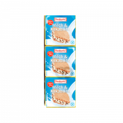 Wafers chocolate blanco sin gluten y sin lactosa - 100g