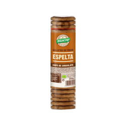 Galletas de espelta con chocolate bio - 250g