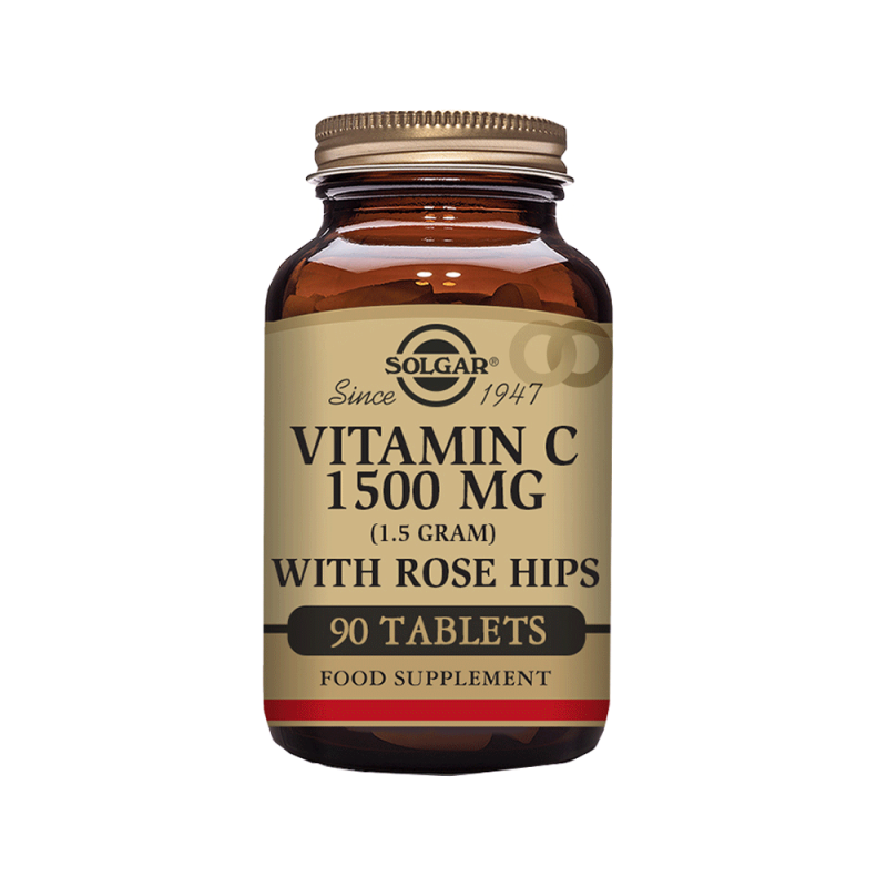 Vitamina C 1500 mg Rose Hips