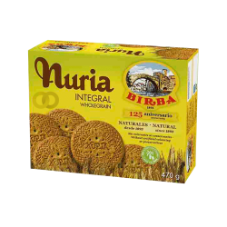 Galletas nuria integrales - 470g