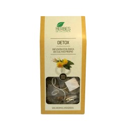 Infusión Detox natural y bio