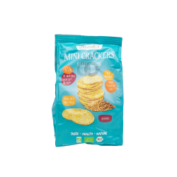 Mini crackers de maíz BIO Quinoa