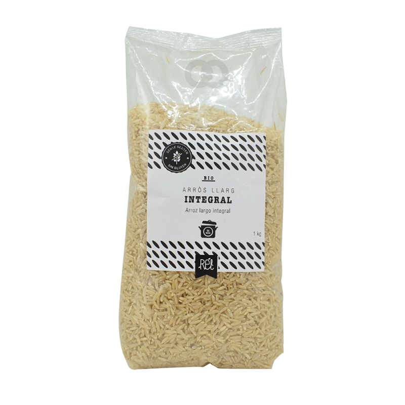 Arroz largo integral bio - 1kg