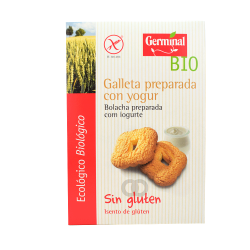 Galletas sin gluten preparadas con yogurt biologica - 250 gr