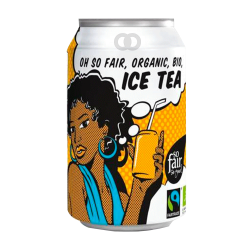 Ice tea gazeux bio et équitable - 330ml