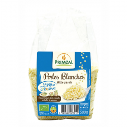 Perles blanches BIO - 500g