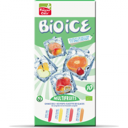 Sucettes de glace Multifruits - 10*40ml
