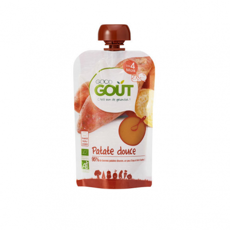 Gourde Patate Douce 4m BIO - 120g