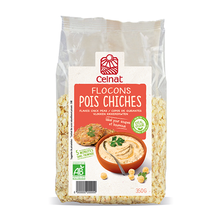 Flocons pois chiches France 350 g