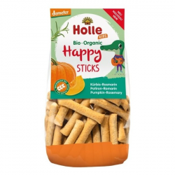 Biscuits Happy stick Potiron romarin Kids dès 3 ans BIO - 100 gr