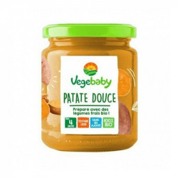 Petit pot patate douce courge 4m BIO - 190 gr