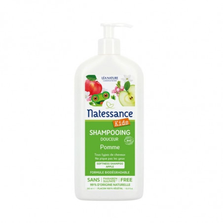 Kids Shampooing Corps & Cheveux Pomme - 500 ml