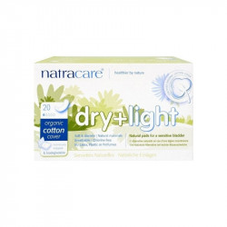 Serviettes hygiéniques dry and light coton BIO - Pack de 10 unités