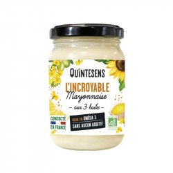 L'incroyable mayonnaise bio - 180g