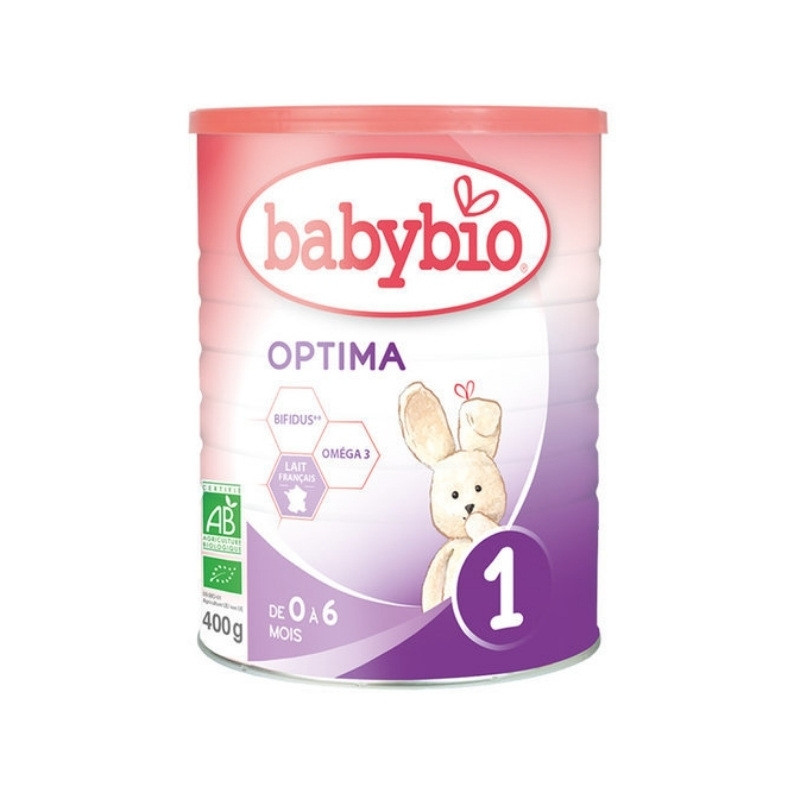Lait nourrisson Bio Optima 1 - 400g