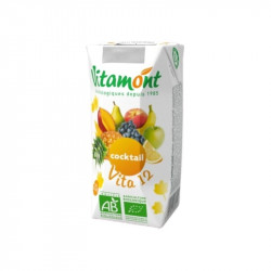 Pur jus de fruits bio cocktail vita 12 - 20cL