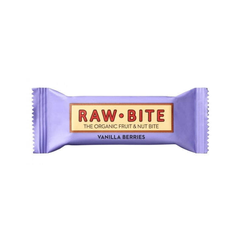 Barre Raw·bite baies et vanille bio - 50 gr