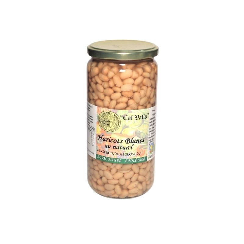 Haricots blancs cuits bio - 450 gr