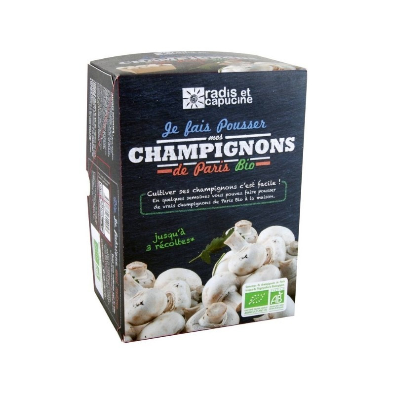 Kit de culture champignons blancs de Paris Bio