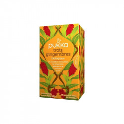 Infusion trois gingembres Bio - 20 sachets (40g)