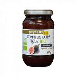 Confiture extra figue équitable du Roussillon Bio - 375g