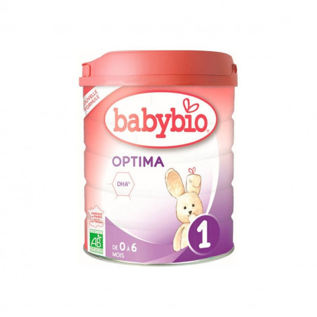 Lait nourrisson Bio Optima 1 - 800g