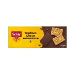 Biscuits chocogalletas sans gluten recouverts de chocolat - 150 gr
