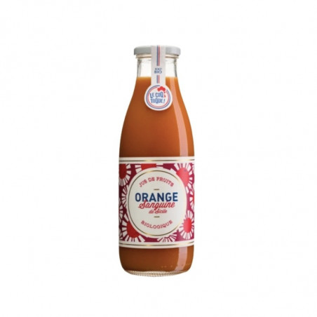 Jus d'orange sanguine de Sicile Bio - 75cl
