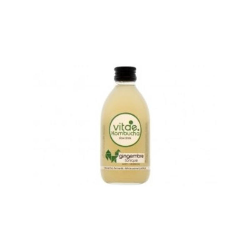 Kombucha bio gingembre tonique - 250mL
