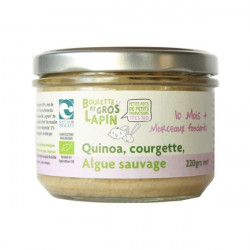 Petit pot Quinoa Courgette Algue sauvage 10m BIO - 240g