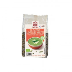 Flocon de lentilles vertes france - 350 g